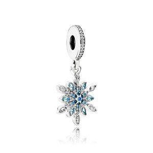 Pandora Crystallised Snowflake Pendant Charm
